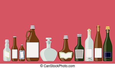 állhatatos, palack