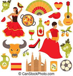 állhatatos, spanyolország, ikonok