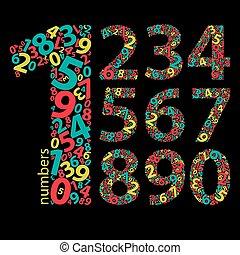 állhatatos, számok