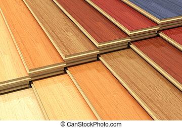 állhatatos, szín, rétegelt, fából való, szerkesztés, deszkák
