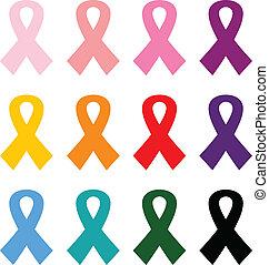 állhatatos, színes, rák, elszigetelt, mell, fehér, gyeplő, ikon