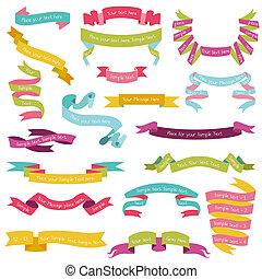 állhatatos, színes, szöveg, -, 1, vektor, rész, gyeplő, -e