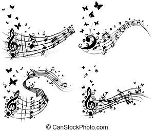 állhatatos, zenés, háttér