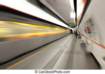 állomás, metró