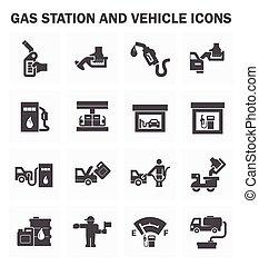 állomás, olaj