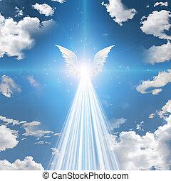 ángel, alado