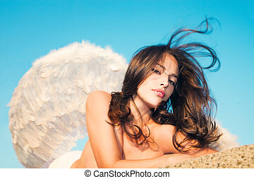 ángel, belleza