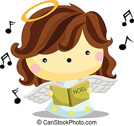 ángel, canto