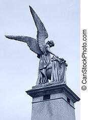 ángel, en, recoleta