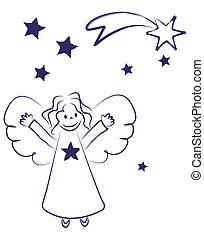 ángel pequeño