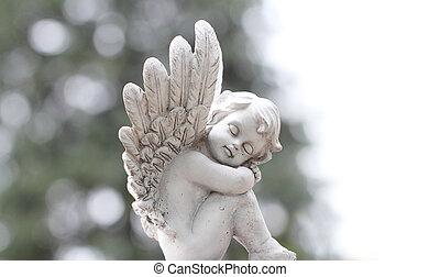 ángel, tarjeta