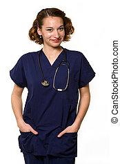 ápoló, barátságos