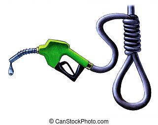 ár, benzin