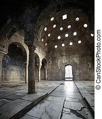 árabe, 11o, século, banhos