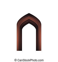 árabe, arco