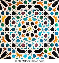 árabe, azulejos