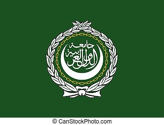 árabe, liga, bandeira