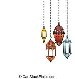 árabe, linterna
