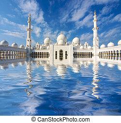 árabe, mezquita