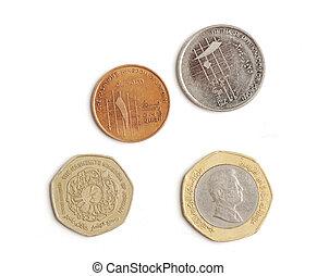 árabe, moedas