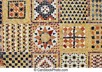 Rabe mosaico estilo cer mico marroqu marruecos for Mosaico marroqui