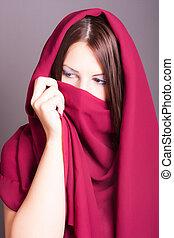 árabe, mulher
