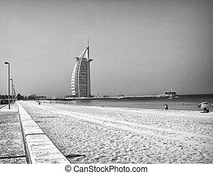 árabe, unidas,  Emirates, arquitetura,  dubaï