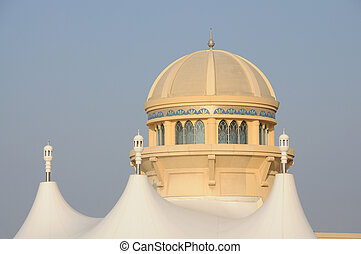 árabe, unidas, emirates, arquitetura, dubai