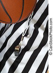 árbitro, baloncesto
