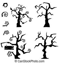 árbol, conjunto