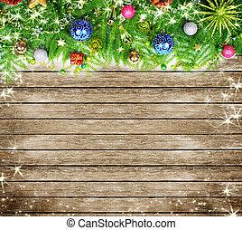 árbol de navidad, decoration.