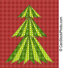 árbol de navidad, para, scrapbooking, 5