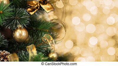 árbol de navidad, plano de fondo