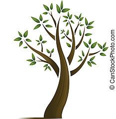 árbol, diseño abstracto