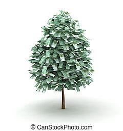 árbol, euro