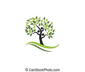 árbol genealógico, símbolo, icono