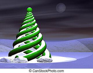 árbol, navidad