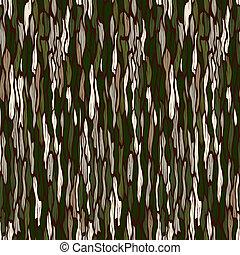 árbol, seamless, fondo., vector, corteza, texture.