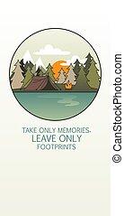 """árboles, arte, memorias, fuego, footprints"""", """"take, campo, ..."""