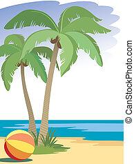 árboles de palma