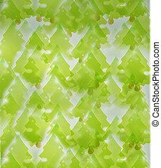 árboles verdes, plano de fondo