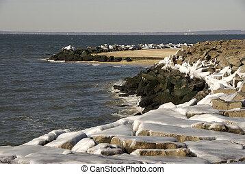 área, recreación, nacional, orilla, artic, jersey, gancho,...