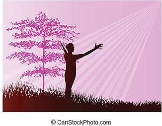 árnykép, imádás