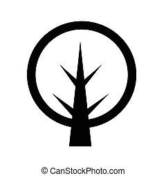 árvore, ícone