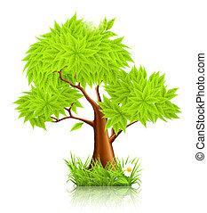 árvore, 10eps, verde