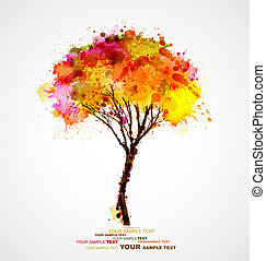 árvore, abstratos