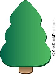 árvore, arte, natal