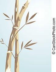 árvore bambu