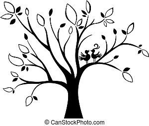 árvore, casório