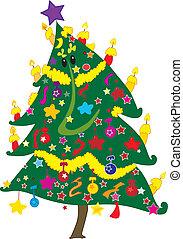 árvore, christmass